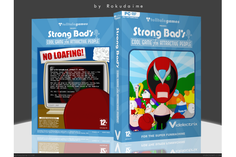 Strong Bad's Cool Game for Attractive People PC Box Art ...