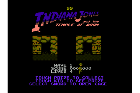 Indiana Jones and the Temple of Doom Download Game ...