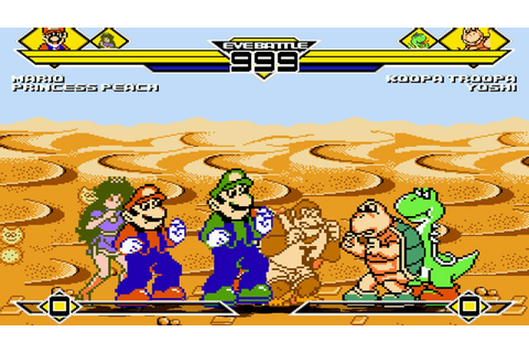 Mario Kart Fighter Party 4v4 Patch MUGEN 1.0 Battle ...