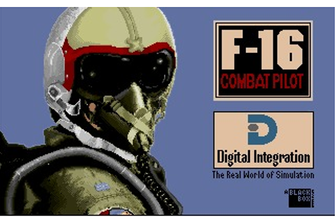 F-16 Combat Pilot (Amiga) Game Download