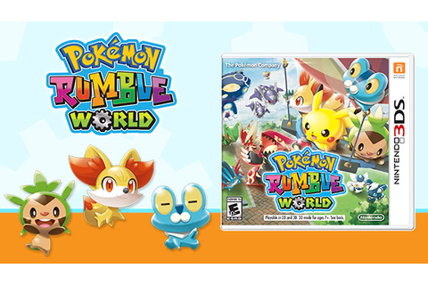 The Pokémon Rumble World Package Release Is Now Available ...