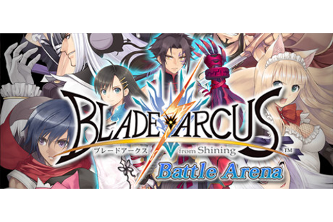 Save 40% on Blade Arcus from Shining: Battle Arena on Steam