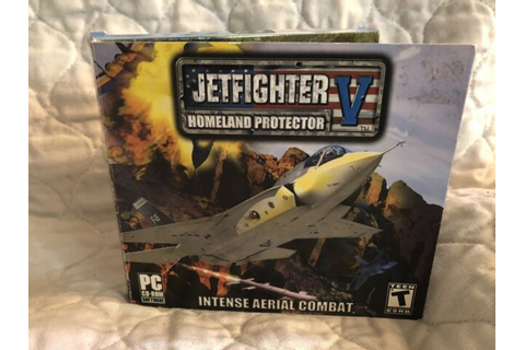 Jetfighter V Homeland Protector PC/Computer Game NEW CD ...