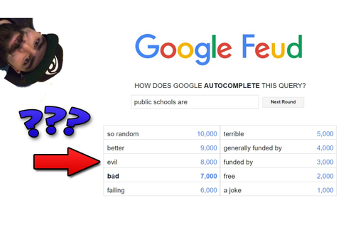 Google Feud - There are no such things as Best Friends ...