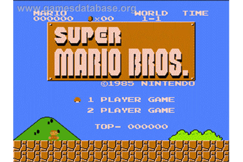 Super Mario Bros. - Nintendo NES - Games Database