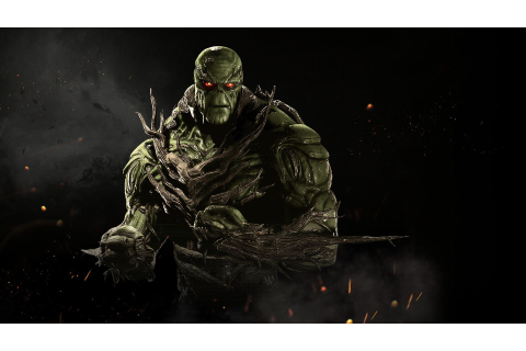 awesome Swamp Thing Injustice 2 Game 1920x1080 Check more ...