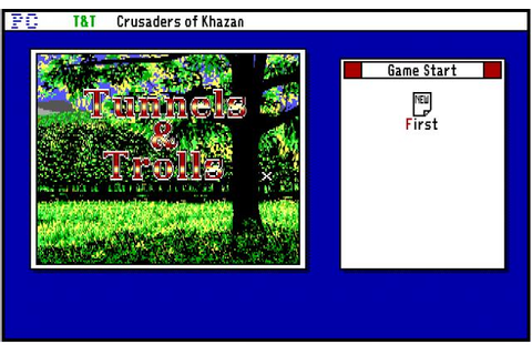 Tunnels and Trolls - Crusaders of Khazan | ClassicReload.com