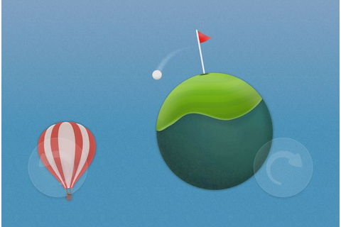 Golf Skies is a Casual Golf Game Featuring Planetoids ...