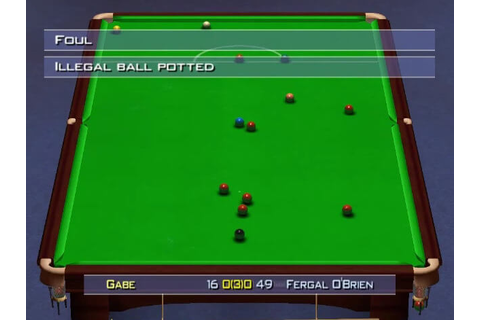 World Championship Snooker 2004 Free Download Full PC Game ...