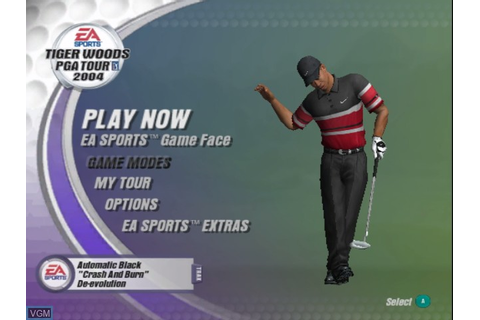 Tiger Woods PGA Tour 2004 for Nintendo GameCube - The ...