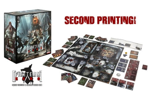 Fireteam Zero (Second Printing) by Emergent Games —Kickstarter