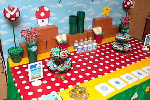 Super Mario Birthday Party | POPSUGAR Moms