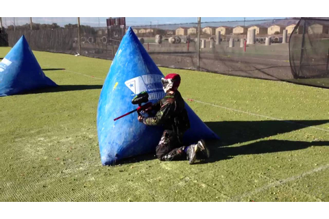 Vegas Xtreme Paintball 6 v 6 Speedball Game - YouTube