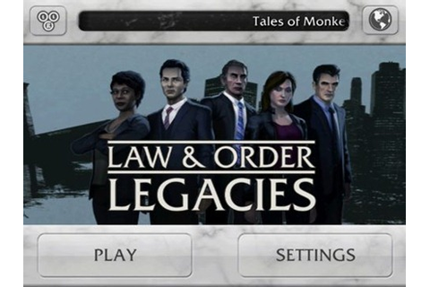 Law & Order: Legacies for iPad Released, in the App Store ...