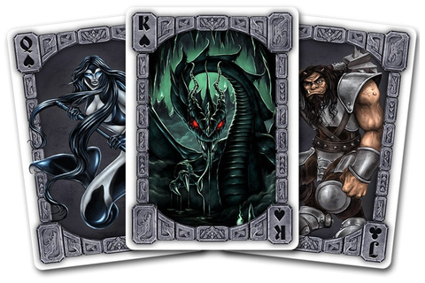 Creature Cards - monstrous playing cards for games or rpgs ...