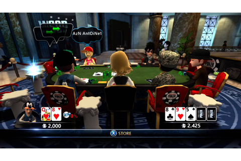 World Series of Poker - Full House Pro - Xbox 360 - YouTube