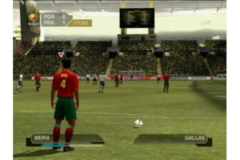 UEFA Euro 2004: Portugal Xbox Gameplay - YouTube