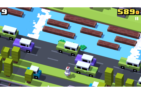 Review of the Crossy road best arcade game ever! - Levotron