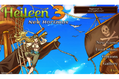 Free Otome Games: Heileen 3: New Horizons