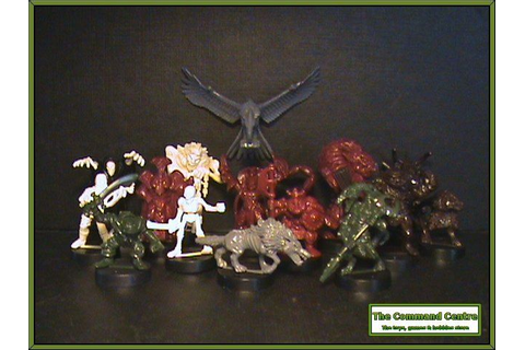 Dark World Game Fantasy Figures Monsters Village of Fear ...