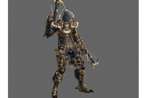 Diablo III character - Male Demon Hunter 3d model 3dsMax ...