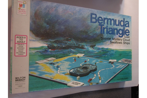 BERMUDA TRIANGLE board game | History | Pinterest