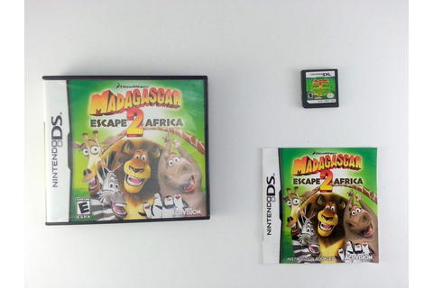 Madagascar Escape 2 Africa game for Nintendo DS (Complete ...