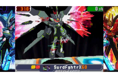 Megaman Starforce 3 Black Ace - VS Crimson Dragon Σ (Sigma ...