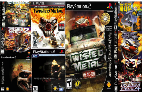 Image - Twisted Metal game covers.jpg - My Little Pony ...