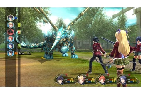 7 seconds of Sen no Kiseki battle gameplay - Gematsu