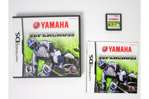 Yamaha Supercross game for Nintendo DS (Complete) | The ...