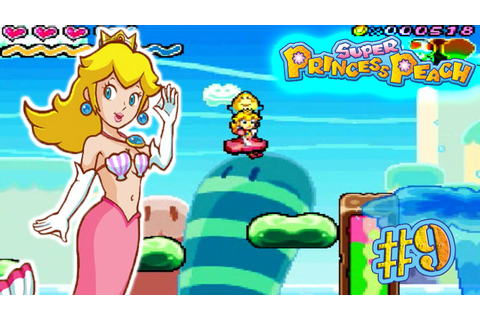 DS | Super Princess Peach 100% #9 / Playa Oleada: Nivel: 5 ...