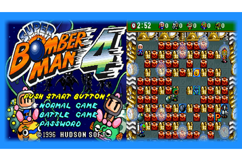 Super Bomberman 4 (SNES) - English Patch Download