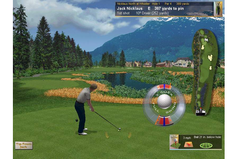 Jack nicklaus 6 golden bear challenge pc : soundlicons