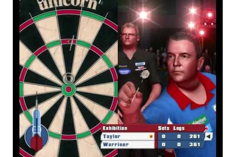 PDC World Championship Darts 2008 (PC gameplay) - YouTube