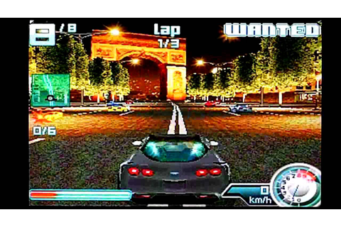 Game Asphalt 4 Elite Racing 3D S60v2 - mixedisk