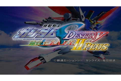 Mobile Suit Gundam Seed Destiny: Rengou vs Z A F T II Plus ...