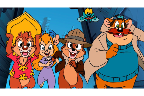 Chip 'n Dale Rescue Rangers (Remastered) ᴴᴰ - YouTube