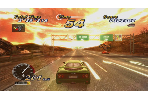 OutRun Online Arcade – Review | My Brain on Games