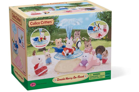 Calico Critters Seaside Merry-Go-Round by Calico Critters ...