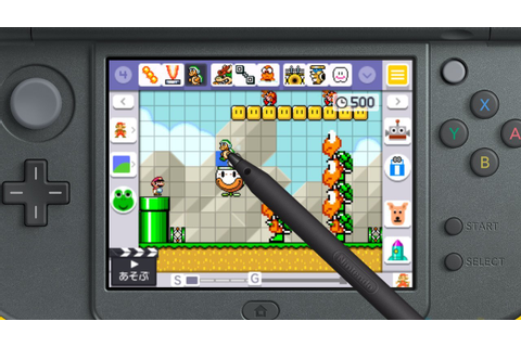Super Mario Maker for Nintendo 3DS Review - IGN