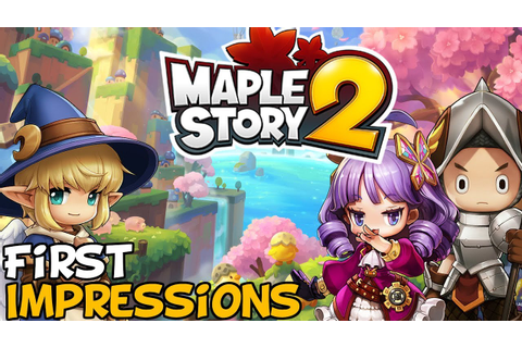 "MapleStory 2 First Impressions ""Is It Worth Playing ..."