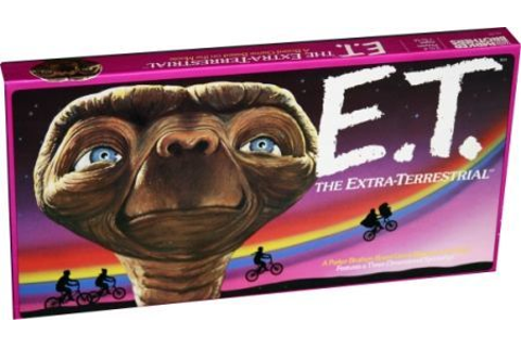 E.T. The Extra-Terrestrial board game (Parker Brothers ...