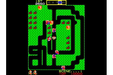 Mr Do! ~1982 Universal~ Arcade MAME mrdo - YouTube