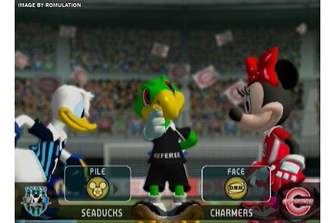 Disney Sports Football (USA) Nintendo GameCube (NGC) ISO ...
