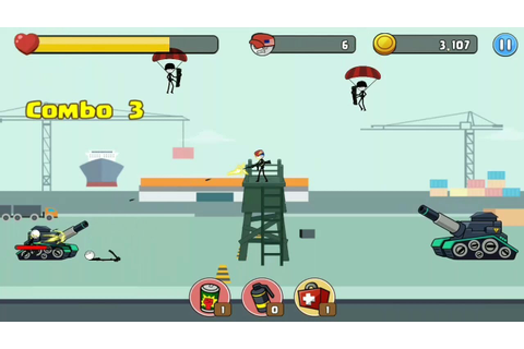 Stick soldier - Revenger - Stickman warriors Android ...