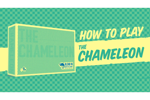 How to play: The Chameleon - The Family Party Game - YouTube