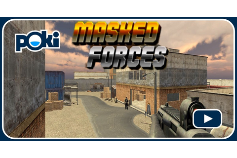 Masked Forces Game - Action Games - GamesFreak