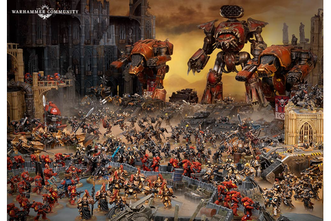 Fight Bigger Battles As Warhammer 40k Apocalypse Announced ...