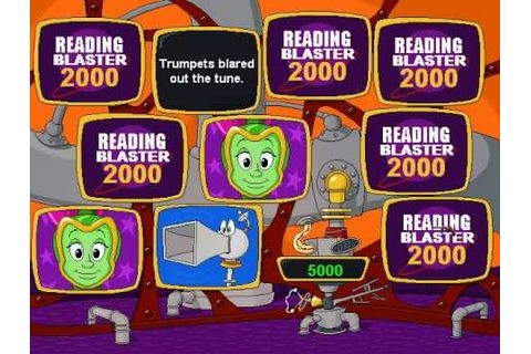 Reading Blaster 2000 - Old Games Download
